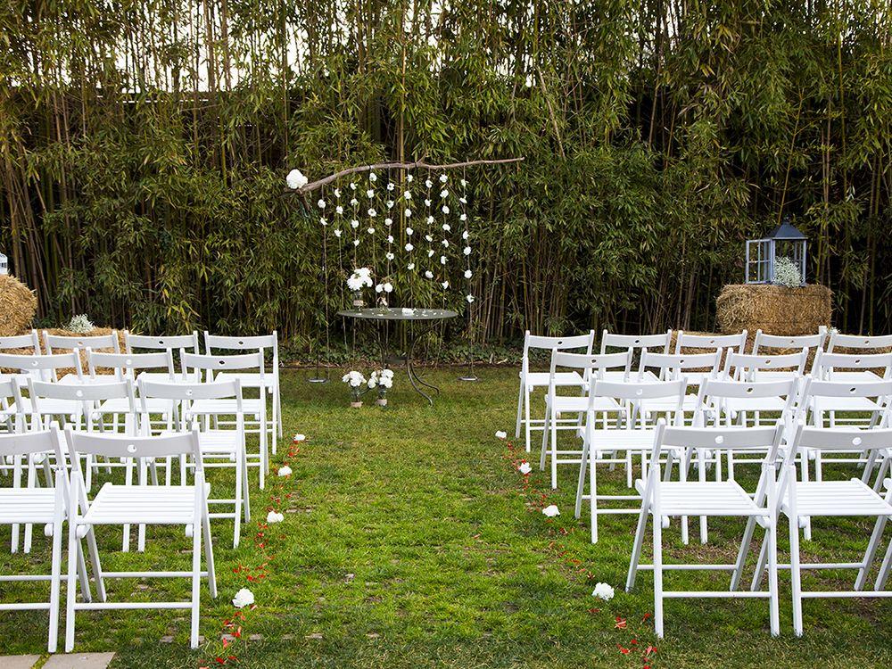 Exteriores Sant Cugat para boda Civil